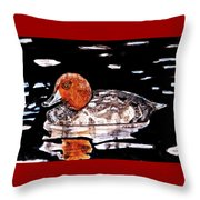 In Love With Redheads Throw Pillow