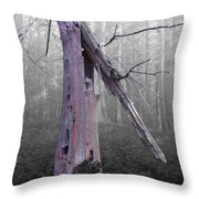 In Memory Of A Tree Throw Pillow
