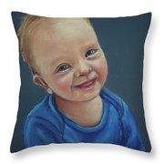 In Memory Of Blake Throw Pillow