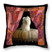 In Memory Of Ms Chloe - On Stage Throw Pillow