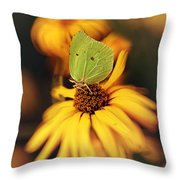 In My Garden Throw Pillow