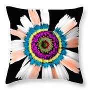In My Own Little World Throw Pillow