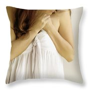 In My Thoughts And Dreams Throw Pillow