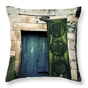 In Old Calton Cemetery Throw Pillow by RicardMN Photography