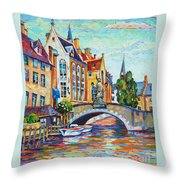 In Old Europe Throw Pillow
