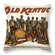 In Old Kentucky Throw Pillow