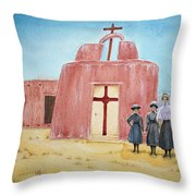 In Old New Mexico II Throw Pillow