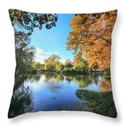 In Our Own Special World Throw Pillow