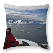 In Paradise... Throw Pillow