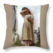 In Penitence Throw Pillow