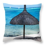 In Perfect Balance. Beach Life Throw Pillow