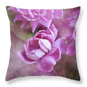 In Pink Throw Pillow