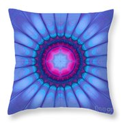 In Pink Ink Throw Pillow