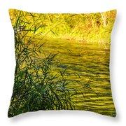 In Praise Of Grass Throw Pillow