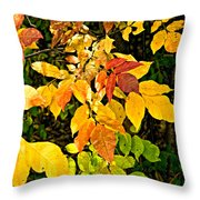 In Praise Of Yellow Throw Pillow