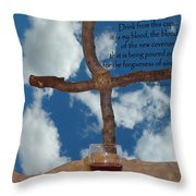 In Remembrance Of Me 1 Throw Pillow