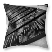 In Remembrance V6 Throw Pillow