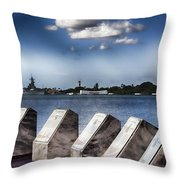 In Remembrance V7 Throw Pillow