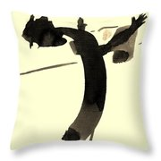 In Rotation Throw Pillow