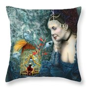 In Search Of Balance II Throw Pillow
