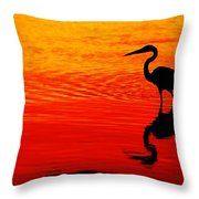 In Search Of Gold Throw Pillow