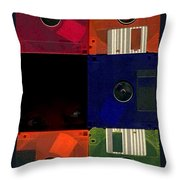 In Search Of The Missing Disc Throw Pillow