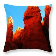 In Shadows Where The Gods Wander Throw Pillow