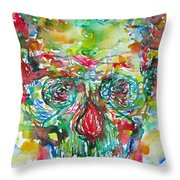 In Silence The Inaudible Voices Spoke Throw Pillow