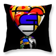 in Space Of Sleep Throw Pillow