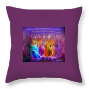 In Spirit And Truth Throw Pillow