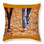 In Step Throw Pillow