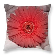In Strong Hands Throw Pillow