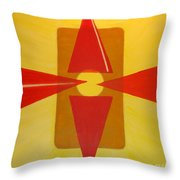 In Sunshine Throw Pillow