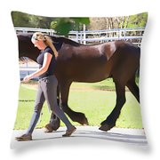 In Sync Throw Pillow