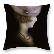 In The 50s Throw Pillow