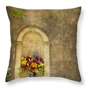 In The Alcove Throw Pillow