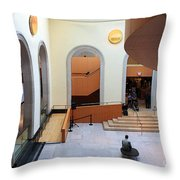 In The Art Gallery Of Ontario Vi Throw Pillow