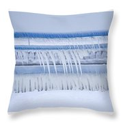 In The Bleak Midwinter Throw Pillow
