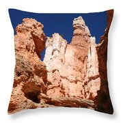 In The Bryce Canyon Throw Pillow