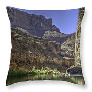 In The Canyon Throw Pillow