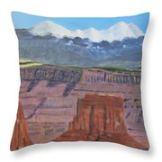 In The Canyonlands Utah Throw Pillow