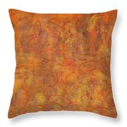 In The Caverns You Will Find Throw Pillow