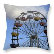 Around In The Clouds Throw Pillow