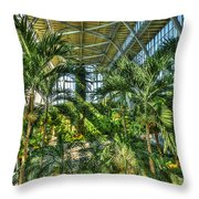 In The Conservatory Throw Pillow