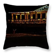 In The Dark I Am Invisible Throw Pillow