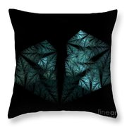 In The Deep Dark Forest Throw Pillow