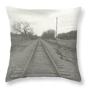 In The Distance Throw Pillow