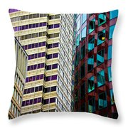 Rightside District Throw Pillow