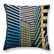 In The District Throw Pillow