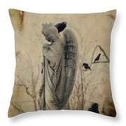 In The Elysian Fields Throw Pillow